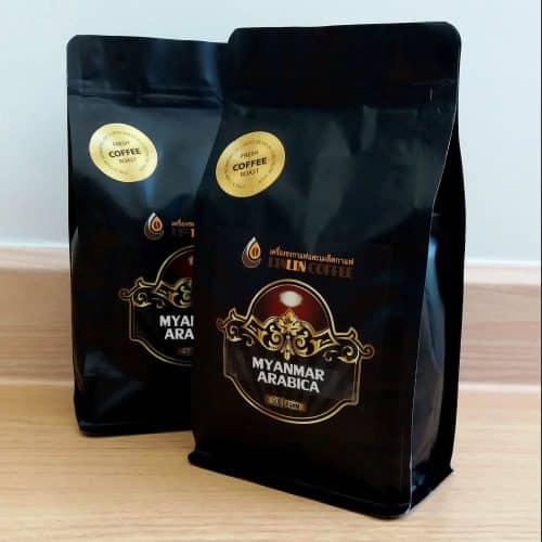 เมล็ดกาแฟ พม่า อาราบิก้า