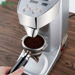 เครื่องบดกาแฟไฟฟ้าเสี้ยนบดมืออาชีพ แบบมีโถพักผงกาแฟ L-Beans SD-921L