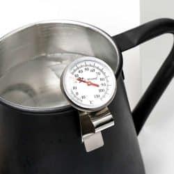 เครื่องวัดอุณหภูมินมสำหรับกาแฟ L-Beans ที่มีระดับอะนาล็อก