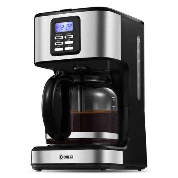 เครื่องชงกาแฟสำหรับบ้านพร้อมหน้าจอ LCD Donlim DL-KF400S