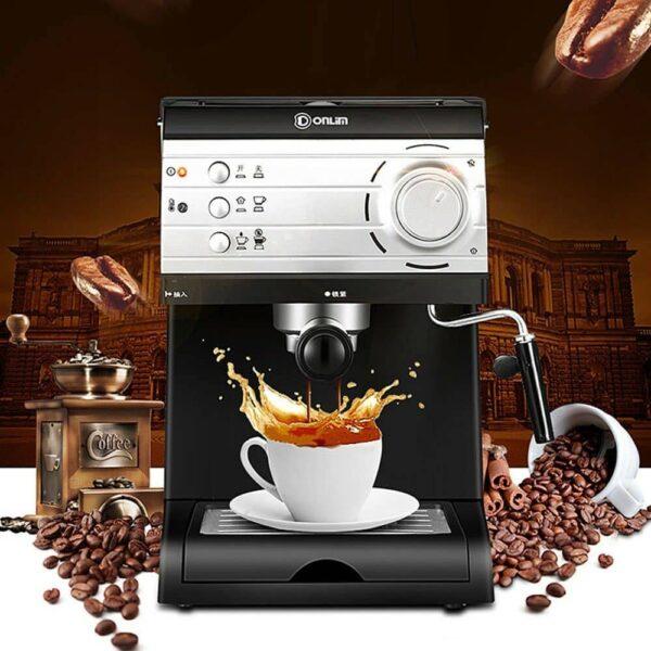 เครื่องชงกาแฟเอสเปรสโซสำหรับบ้าน Donlim DL-KF6001 20 Bar