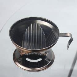 ถ้วยโลหะดริปกาแฟ L-Beans (สีบรอนซ์)