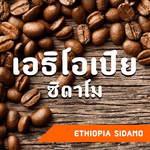 เมล็ดกาแฟ เอธิโอเปีย ซิดาโม