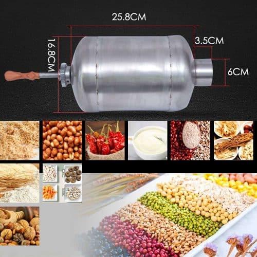 เครื่องคั่วกาแฟไฟฟ้า SMXC-8 (ไม่เกิน 1 กก.) สำหรับเมล็ดธัญพืชทั้งหมด