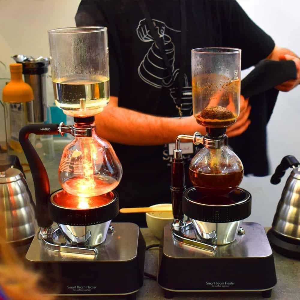 เครื่องชงกาแฟไซฟอน Hario