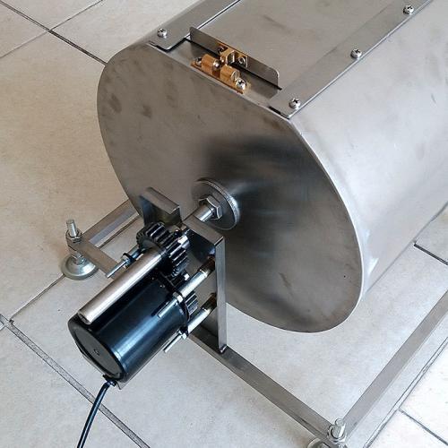 เครื่องคั่วกาแฟพาณิชย์ HD-9 กำลังการคั่วครั้งละ 2 กก. สแตนเลส