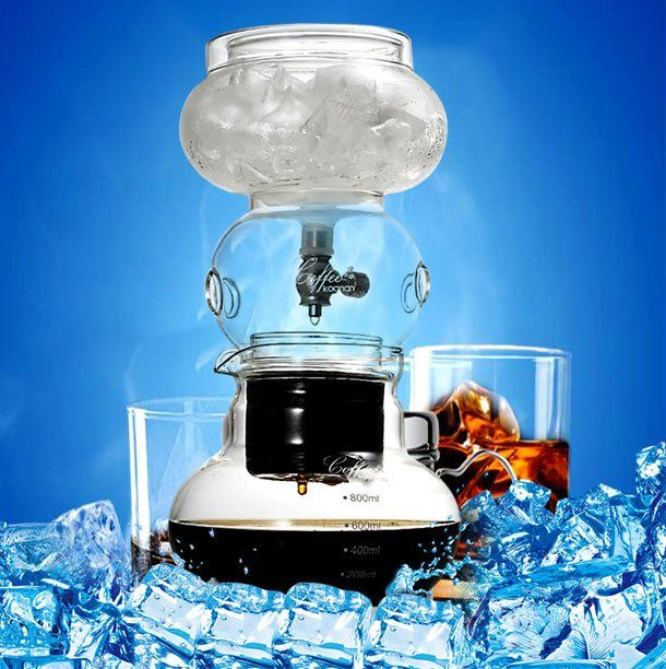 Ice coffee dripper