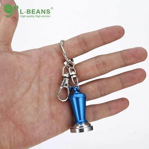 พวงกุญแจแทมเปอร์สแตนเลส ของขวัญสำหรับบาริสต้า