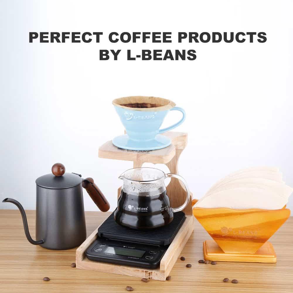 ตัวเก็บแก้วกาแฟแบบ L-Beans