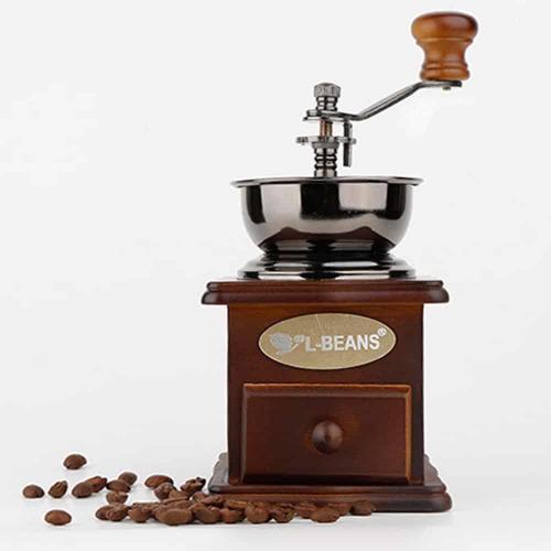 เครื่องบดกาแฟแบบย้อนยุค L-Beans SD-9521
