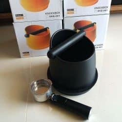 ถังเคาะกากกาแฟ, สีดำ, พลาสติกทนทาน