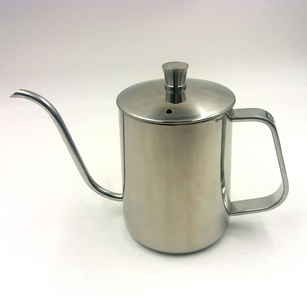 Stainless steel pour over kettle